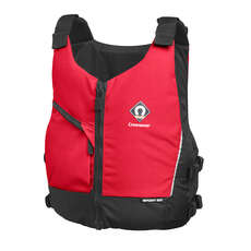 Crewsaver Junior Sport 50N Грудь Zip Buoyancy Aid  - Красный
