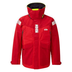 Gill Os2 Offshore / Coastal Sailing Jacket  - Красный