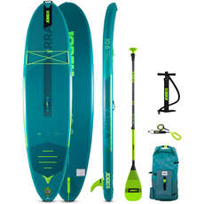 Jobe Yarra 10.6 Aero Inflatable Paddle Board Sup Package  - Бирюзовый
