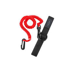 Point 65 Paddle Leash Coiled - Красный